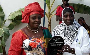 Fatou Gaye awarded Gambian of the Year 2014
