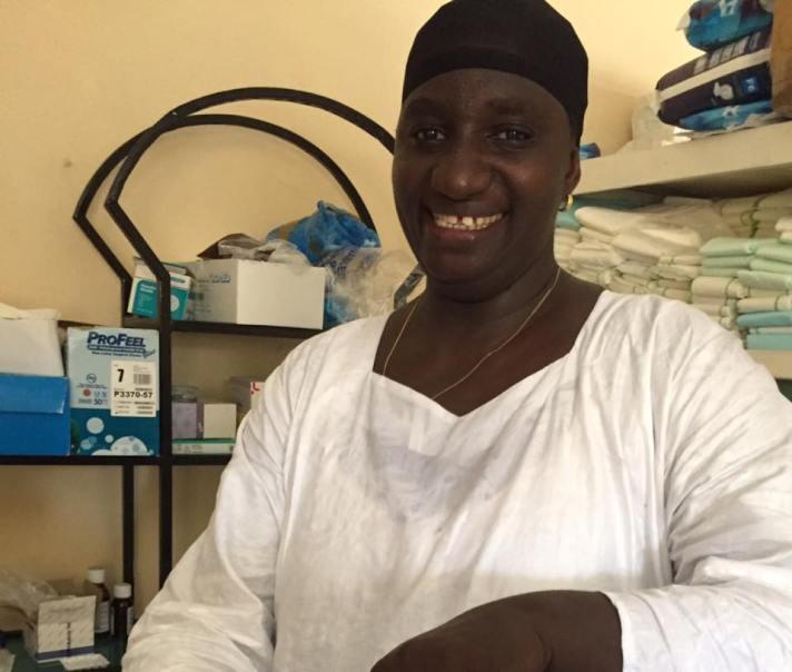 Fatou Gaye midwife