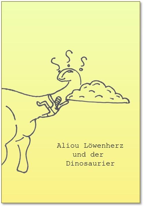 cover Aliou Löwenherz und der Dinosaurier